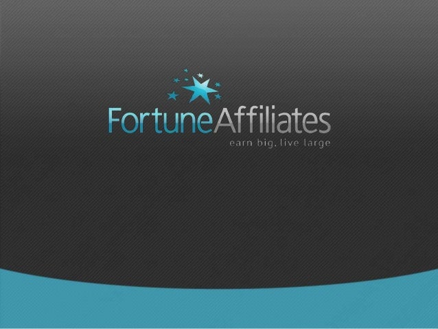 Step 1: Go to www.fortuneaffiliates.com and click on the Join Now! button on the home page.