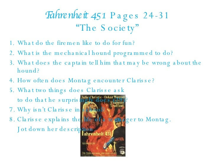 "exploring the symbolism used in fahrenheit 451 However, this symbol also represents montag's ability to ""withstand the  to  explore more symbols and themes in fahrenheit 451, check out."