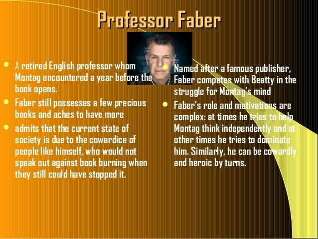 fahrenheit 451 power of others Detailed analysis of in ray bradbury's fahrenheit 451 learn all about how the in fahrenheit 451 such as fahrenheit 451 by the power of.