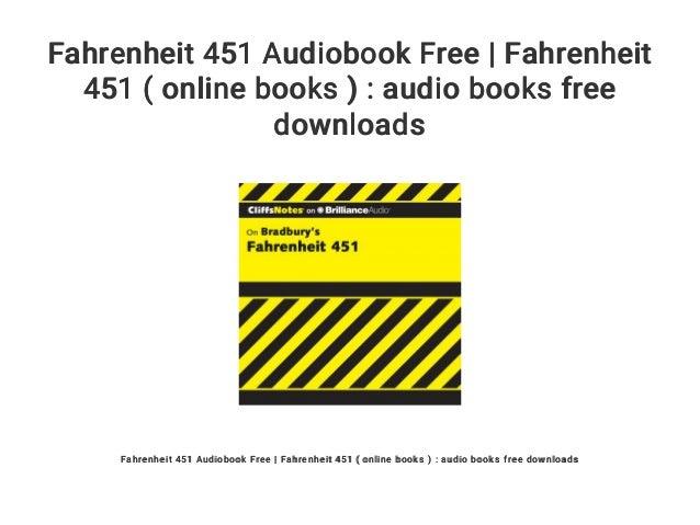 Fahrenheit 451 Online Book