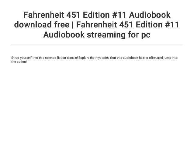 Fahrenheit 451 Stream