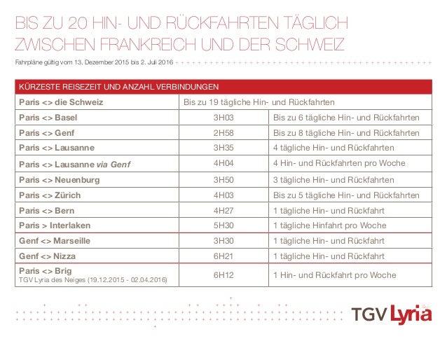 Fahrplan Tgv Lyria 2016