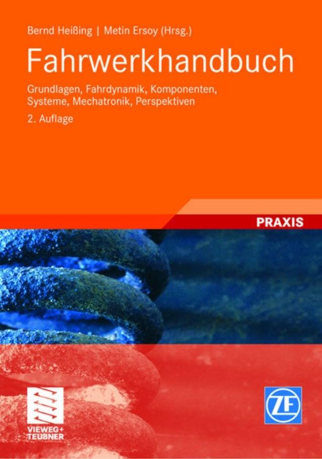 Bernd Heißing | Metin Ersoy (Hrsg.)  Fahrwerkhandbuch
