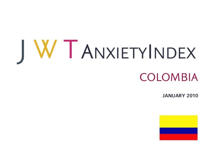 ANXIETYINDEX      COLOMBIA         JANUARY 2010