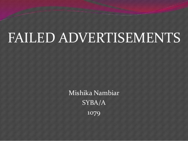 unsuccessful advertising campaign If you want to use shock advertising, it's important that you do your research on   in this post, we look at a few shocking examples that failed and those  three  questions to ask before executing a shock advertising campaign.