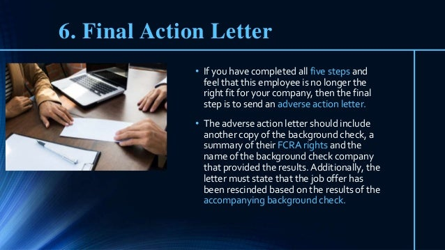 Employee Failed Background Check