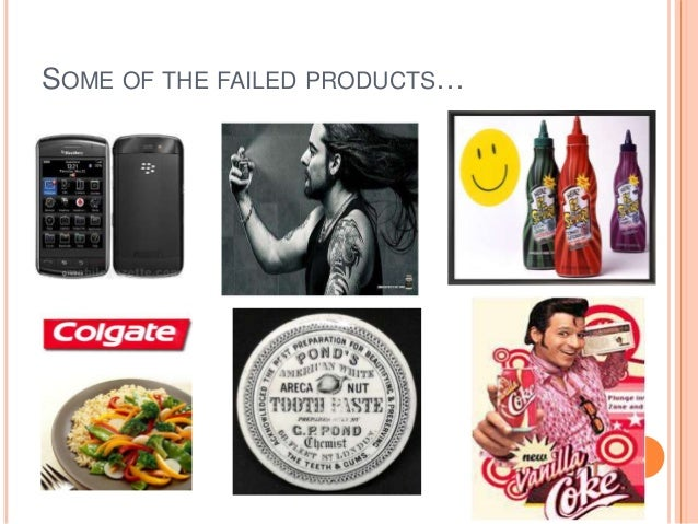 failed products