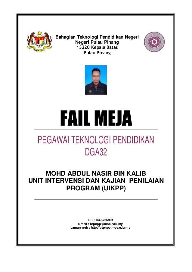 Fail Meja DGA32 UIKPP
