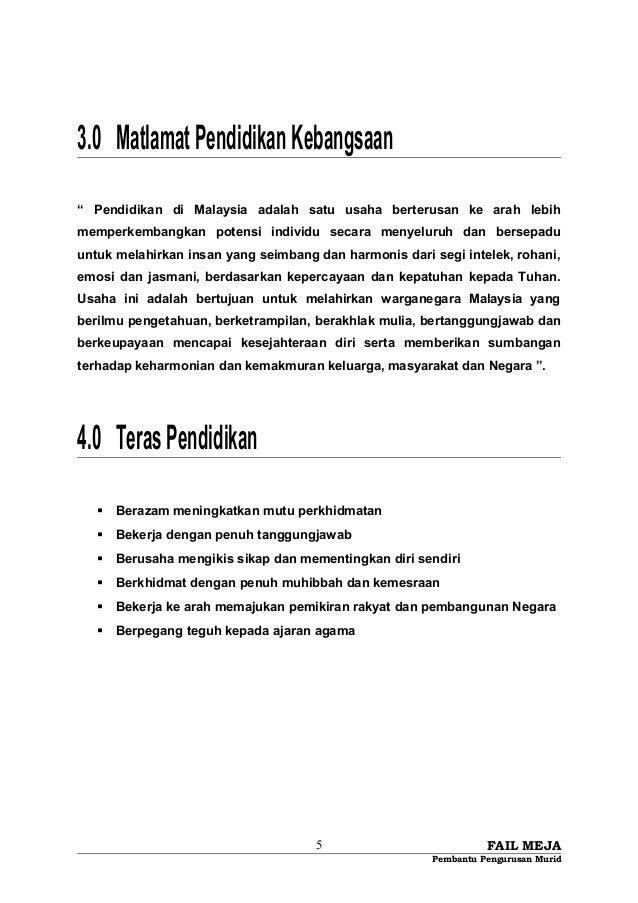 """3.0 MatlamatPendidikanKebangsaan """" Pendidikan di Malaysia adalah satu usaha berterusan ke arah lebih memperkembangkan pote..."""