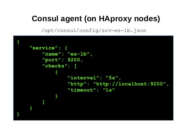How we cooked elasticsearch consul haproxy and dns recursor for Haproxy consul
