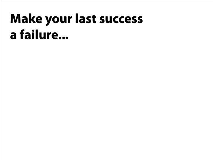 Failure Is Guaranteed: Internet Marketing's Greatest Strength