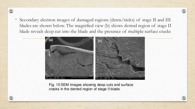 Gas turbine blade failure pdf download