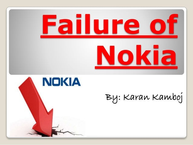 nokias failure The lumia is one such example which was almost a complete failure why did nokia fail to launch android mobiles how is nokia 2 why did swoopo fail.