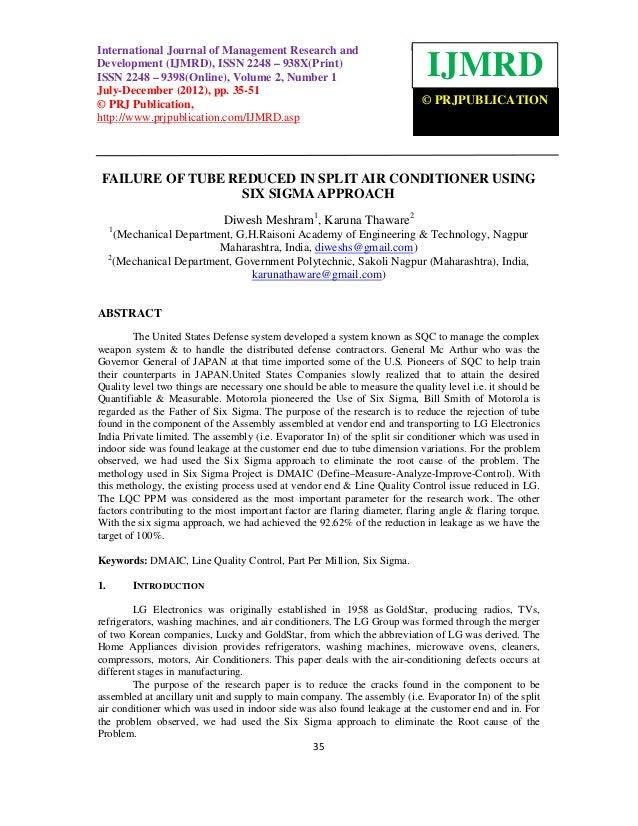 International JournalManagement Research and Development (IJMRD), ISSN 2248 – 938X(Print)International Journal of of Manag...