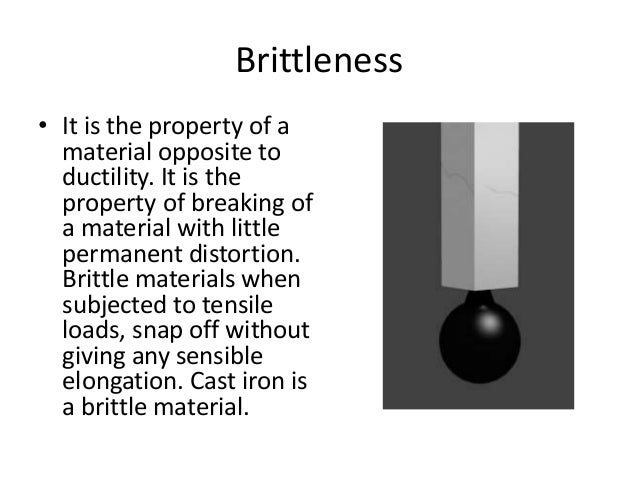Define Physical Properties Of Materials