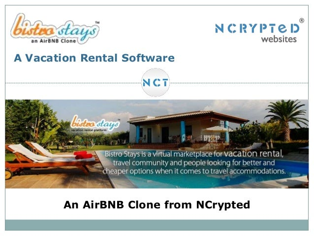 A Vacation Rental Software  An AirBNB Clone from NCrypted