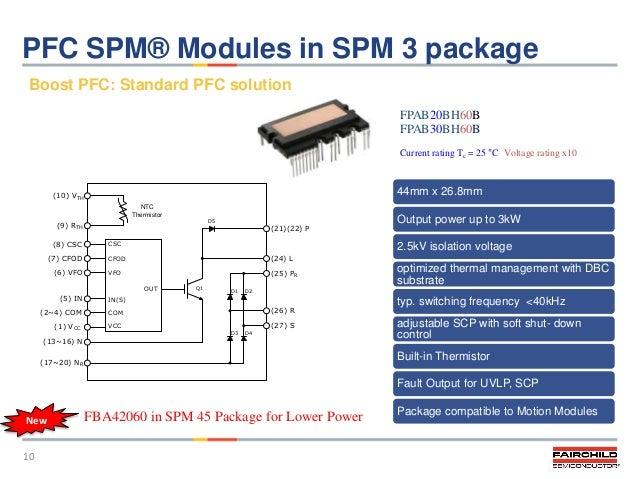 1 x FPDB40PH60B Smart Power Module