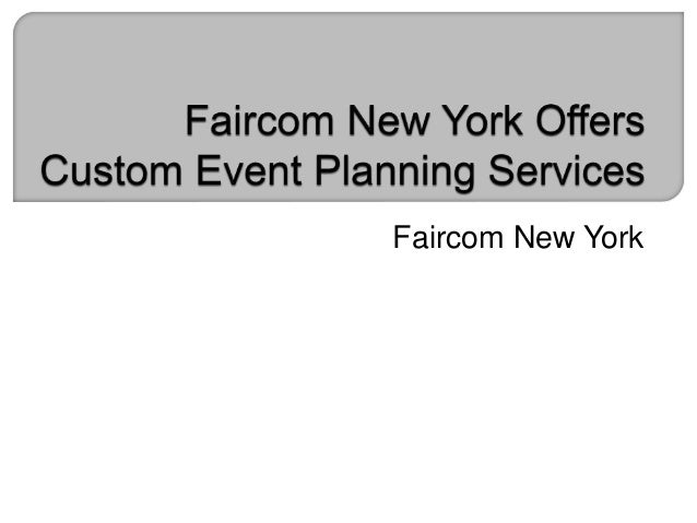 Faircom New York