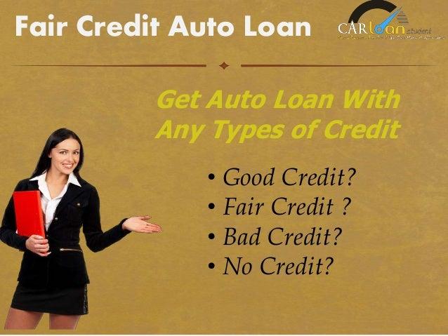 Car loan calculator fair credit 12