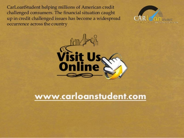Auto Loan With Fair Credit Score