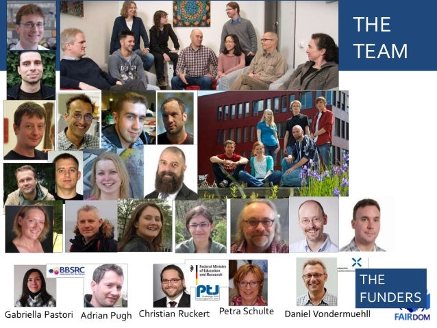 Thanks to our sponsors, partners and collaborators