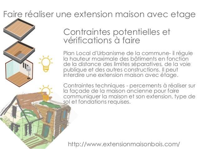 faire realiser une extension de maison avec etage. Black Bedroom Furniture Sets. Home Design Ideas