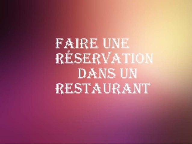 Bonjour, monsieur, bienvenue au restaurant de la Paix.