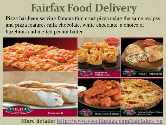 Food Delivery In Fairfax Va
