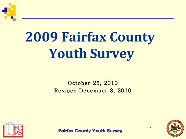 2009 Fairfax County Youth Survey