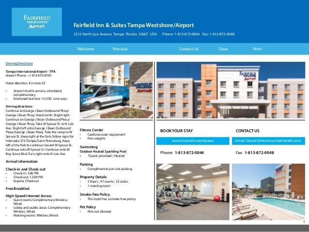 Fairfield Inn Amp Suites Tampa Fl Westshore Airport Hotel