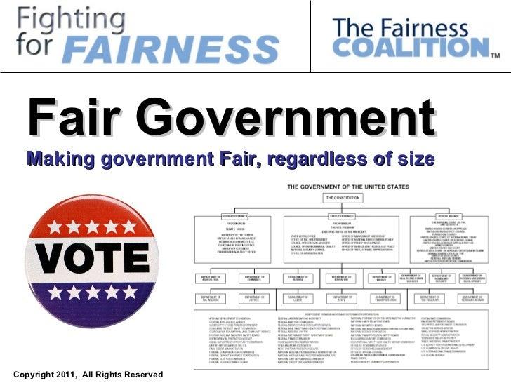 Fair Government