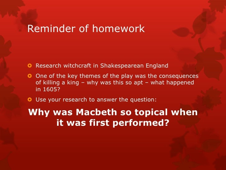macbeth fair is foul  Is macbeth about the downfall of tyrant, or about a misguided man who is easily manipulated throughout this site there are questions, ideas, and comments for you to.