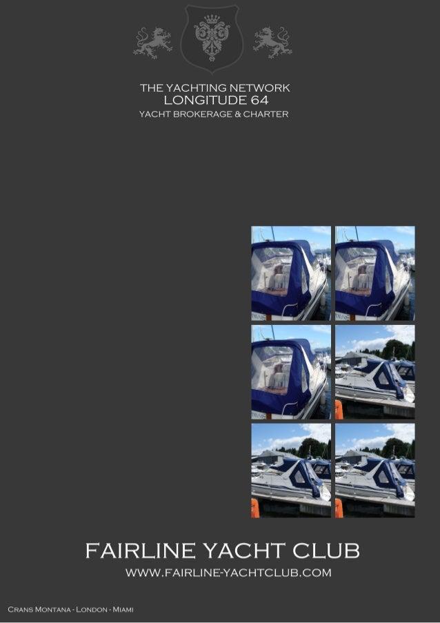 FAIRLINE Targa 27 1989 United Kingdom £28,000 Fairline Targa (1989 model) with twin 4.3 V6 Volvo (205hp) engines, designed...