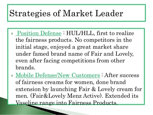 fair and lovely brand analysis Fair and lovely brand from hul is analysed on this page with the help of its swot  analysis, stp and competitors.