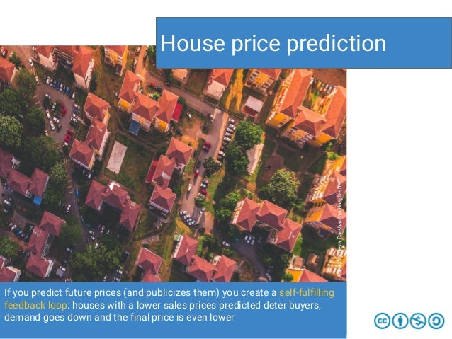 If you predict future prices (and publicizes them) you create a self-fulfilling feedback loop: houses with a lower sales p...