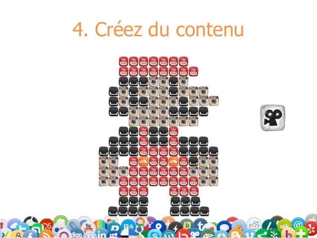 4. Créez du contenu
