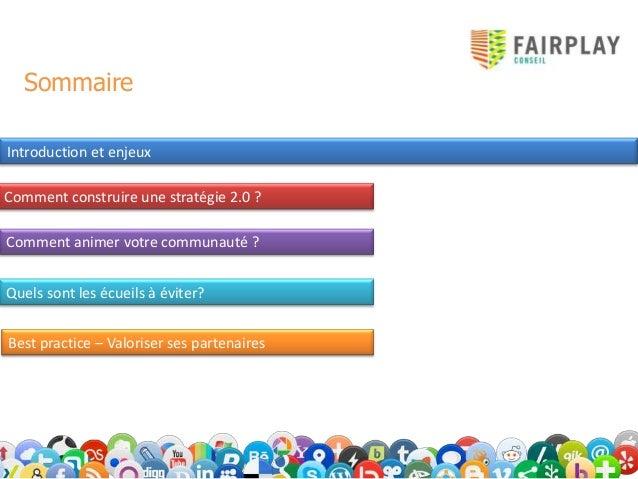 Fédérations, Clubs : Comment construire un stratégie 2.0? Slide 3