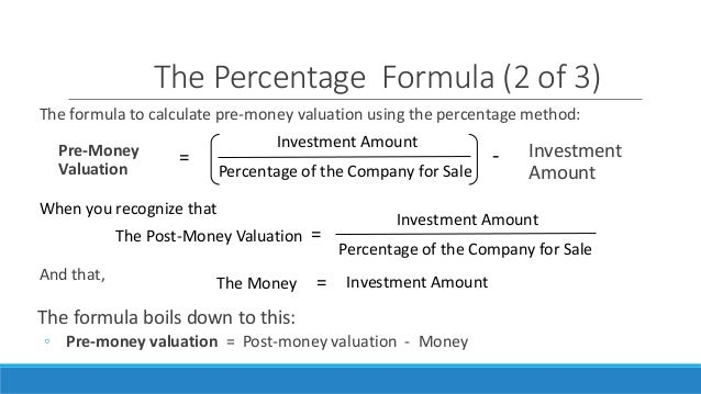 How to calculate ipo valuation