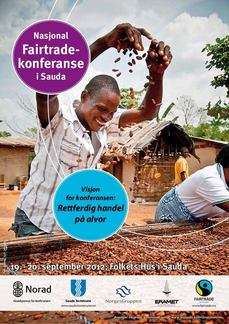 Nasjonal                                  Fairtrade-                                 konferanse                           ...