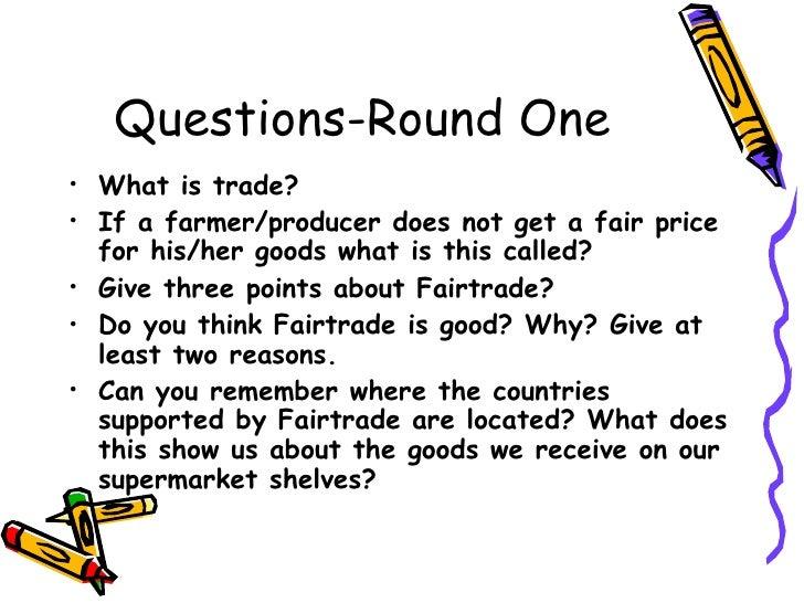 Fairtrade quiz Slide 2