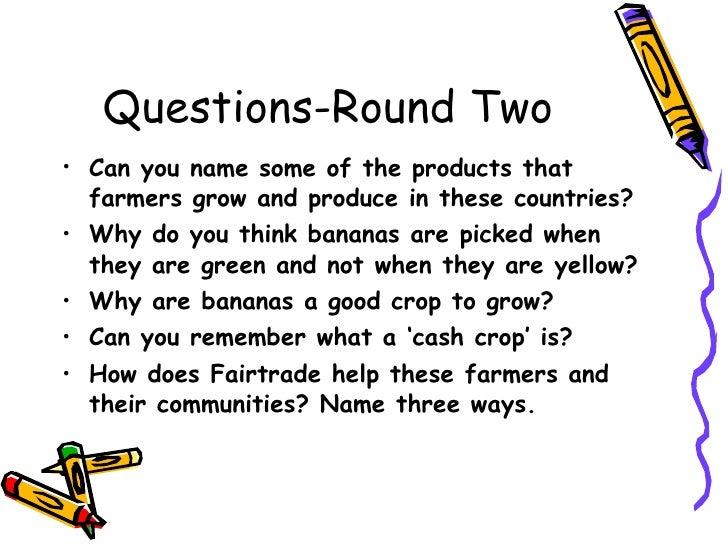 Fairtrade quiz Slide 3
