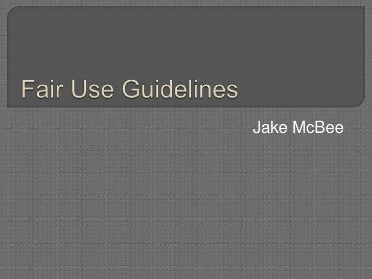 Jake McBee