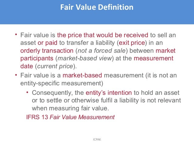 ifrs 13 Request for information post-implementation review ifrs 13 fair value  measurement is published by the international accounting standards board (the .