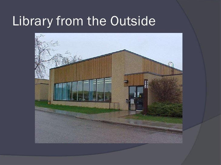 Library from the Outside<br />