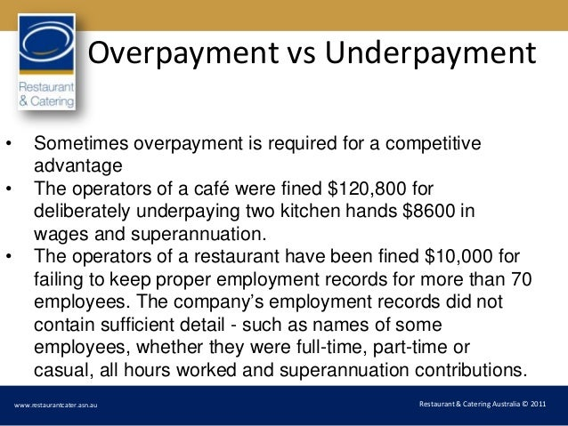 Wages For Kitchen Hands Australia
