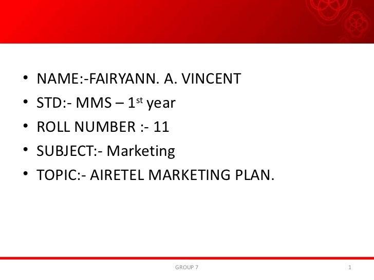<ul><li>NAME:-FAIRYANN. A. VINCENT </li></ul><ul><li>STD:- MMS – 1 st  year </li></ul><ul><li>ROLL NUMBER :- 11 </li></ul>...