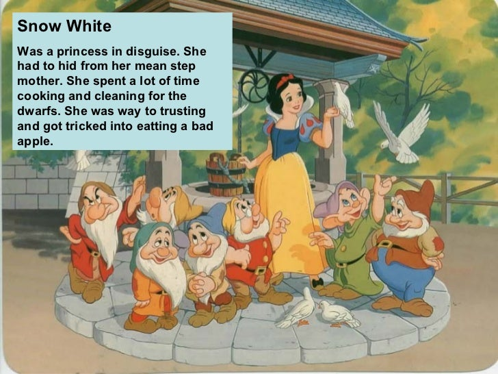 favourite fairy tale character