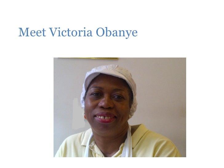 Meet Victoria Obanye