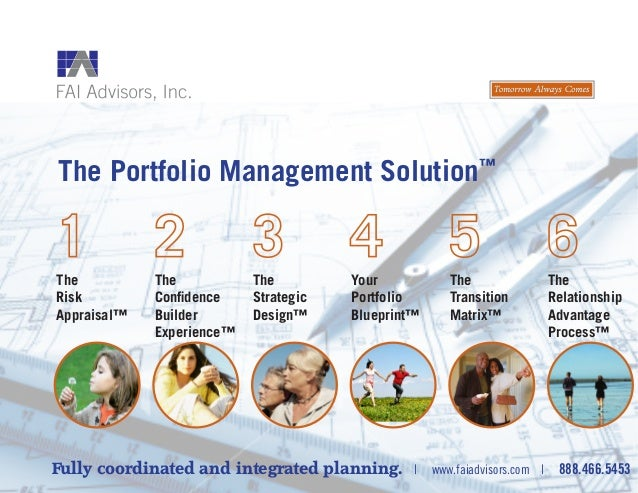 The Portfolio Management Solution™ Fully coordinated and integrated planning. | www.faiadvisors.com | 888.466.5453 The Ris...