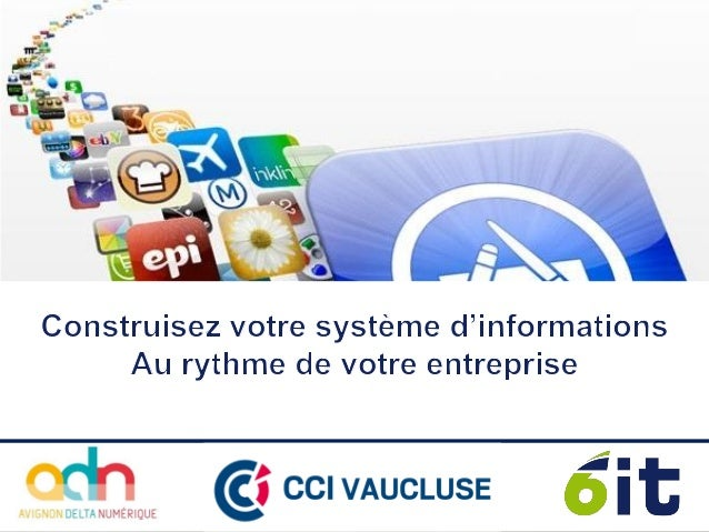 2 o Suivi relation Clients (CRM), Ventes, e-Commerce o Produits & Services : Catalogue, Tarifs o Achats & Stocks o Comptab...